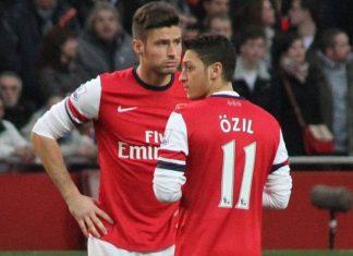 Giroud Besiktas Arsenal