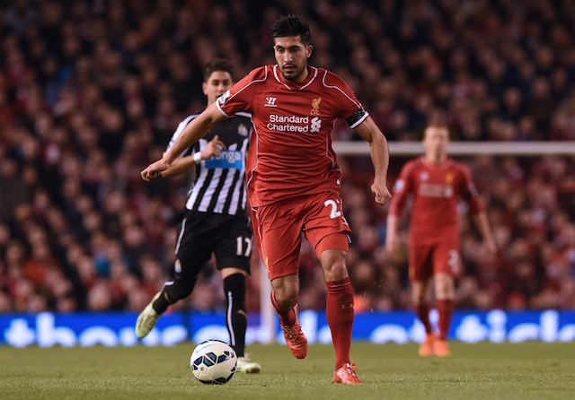 Liverpool star Emre Can set to start against Man City