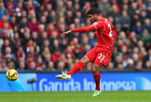 Liverpool team news Emre Can
