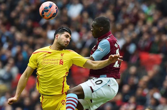 Liverpool fans Emre Can Christian Benteke