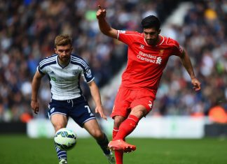 Liverpool vs Everton Emre Can overhead kick
