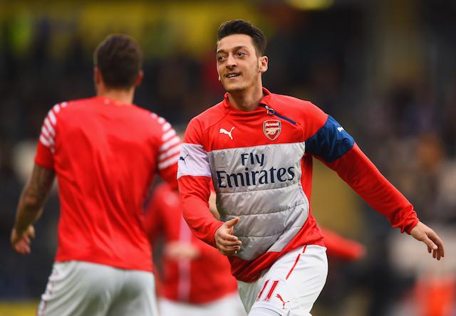Arsenal from Real Madrid Arsenal playmaker Crystal Palace v Arsenal