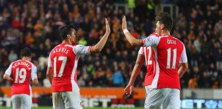 Arsenal team news Alexis Sanchez Mesut Ozil