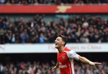 Mesut Ozil Arsenal v West Brom