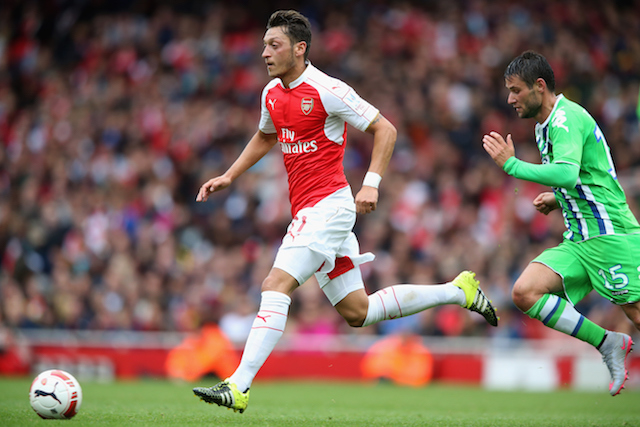 Arsenal team news - Arsenal star Arsenal News Mesut Ozil Martin Keown