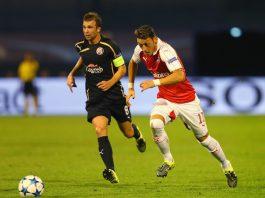 Arsenal v Manchester Utd Mesut Ozil