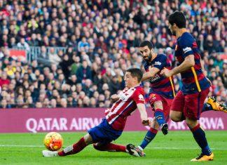 El Classico Barcelona 6 - 1 PSG foot tennis
