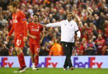 Southampton v Liverpool overhead kick