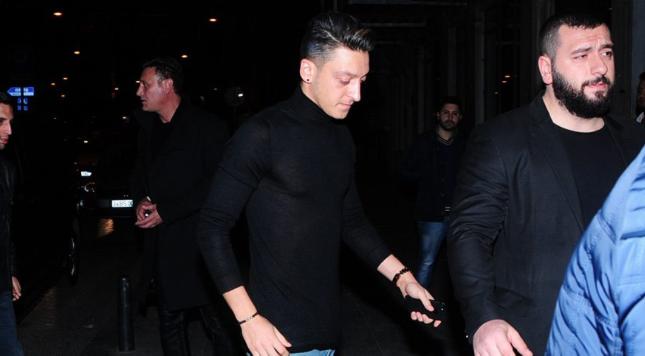 Arsenal star Mesut Ozil Istanbul Turkey