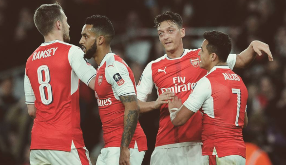 Arsenal team news Man United transfer news Mesut Ozil
