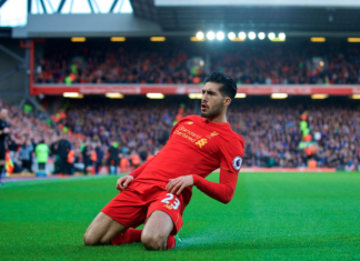 Liverpool team news: Liverpool midfielder Emre Can Knee Slide