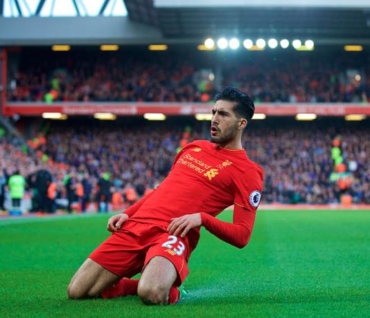 Liverpool team news: Liverpool midfielder Emre Can Knee Slide