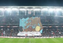 Besiktas tifo fans Olmypiakos