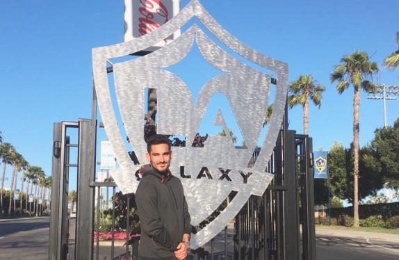 Ilkay Gundogan LA Galaxy