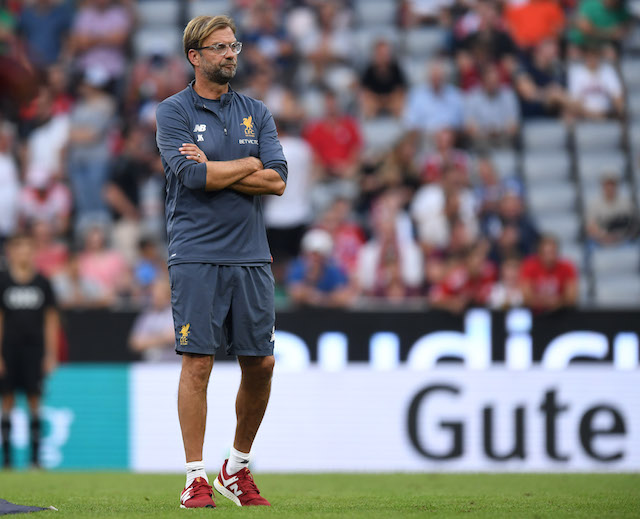 Liverpool team news: Jurgen Klopp