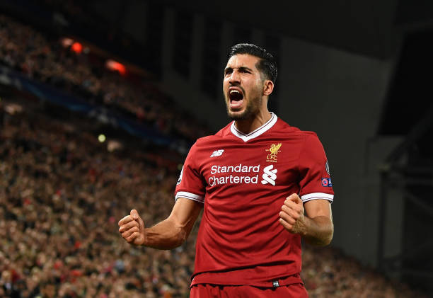 Emre Can Liverpool Juventus
