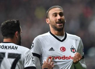 Cenk Tosun Besiktas Newcastle Everton