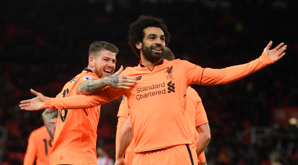 Mohamed Salah Liverpool Real Madrid