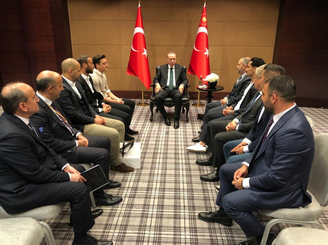 Image result for Recep Tayyip Erdogan and Mesut Özil