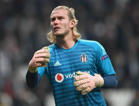 Loris Karius Liverpool Besiktas