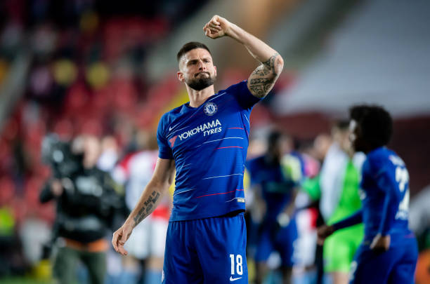 brand new 85728 05094 Olivier Giroud Wants To Extend Chelsea Deal, Fenerbahce Move ...