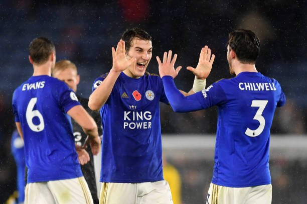 leicester city star caglar soyuncu shares caption less photograph on instagram following west ham victory